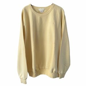 Vintage Northern Reflections Pastel Yellow Sweater